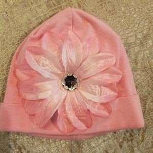 4for$20!Baby girls pink cotton hat